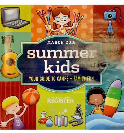 OC Register Summer Camp Kids Guide 2016