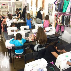 Saturdays are for sewing!  members sewing101