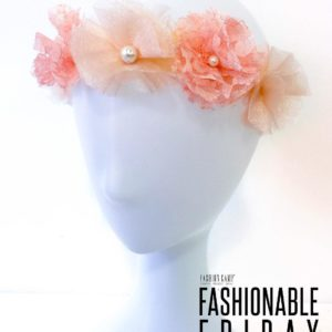 FASHIONABLE FRIDAY FLOWER CROWNS Join us tomorrow for Fashionable Fridayhellip