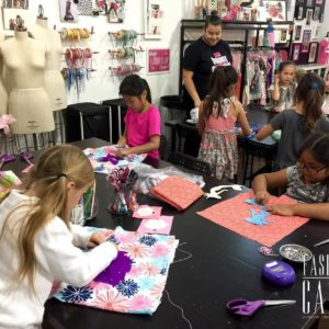 This weeks Junior Sewing Campers are already hard at workhellip