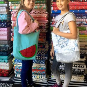 Naomi and Summer finished up their last Sewing 101 sessionhellip